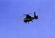 Black Hellicopter in Flight
