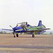 Embraer Tucano and Pilot