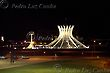 Brasilia's Metropolitan Cathedral, Night View