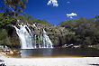 Cachoeira do Poço Encantado - Veadeiros Tableland - Goias, Brazil