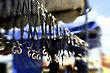 Pendants, Pingents, Tv Tower Flea Market, Brasilia, Brazil, South America