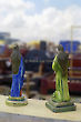 Saints Statues, TV Tower Flea Market, Brasilia, Brazil, South America