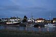 The Harbour Inn, Dusk, Southwold, Suffolk, England, Europe