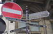 Traffic & Pedestrian Signs, London, England