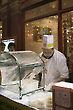 Cooking Dragon's Beard, Chinatown, London, England