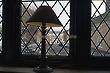 Light Shade and Window - King's Head Inn - Woodbridge, Suffolk